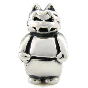 Halloween werewolf bead