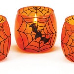 Halloween votive candle holders