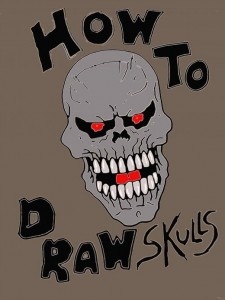 How to Draw Skulls (Wayne Tully) Gothic Fantasy Art