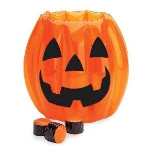 Halloween toss the pumpkin game