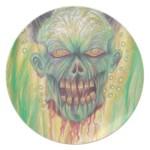 Horror Zombie Art Party Plates