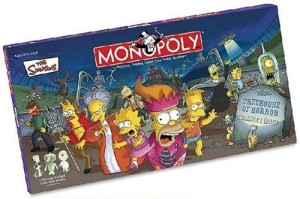 simpsons horror monopoly
