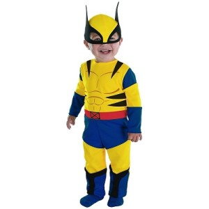 Child's Wolverine costume