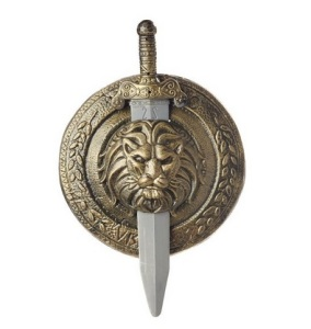 Hercules gladiator sheild and sword