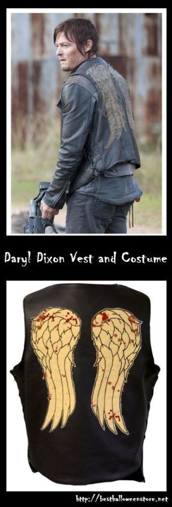 Daryl Dixon Vest and Costume