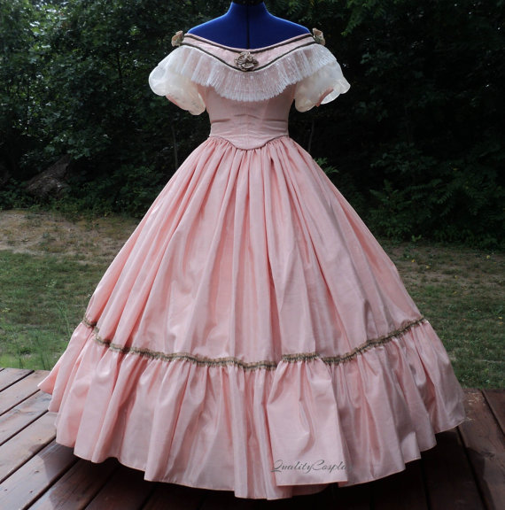 Civil War Ball Gown Costume