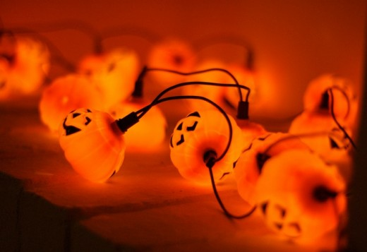 Cute Pumpkin Lights for Halloween