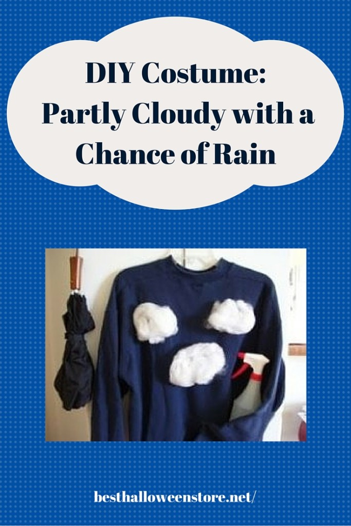 DIY Costume: Partly Cloudy with a Chance of Rain