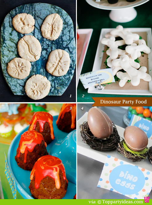 Dinosaur Party Food