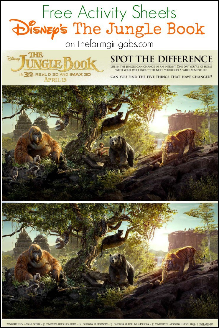 Disneys-The-Jungle-Book-Activity-Sheets