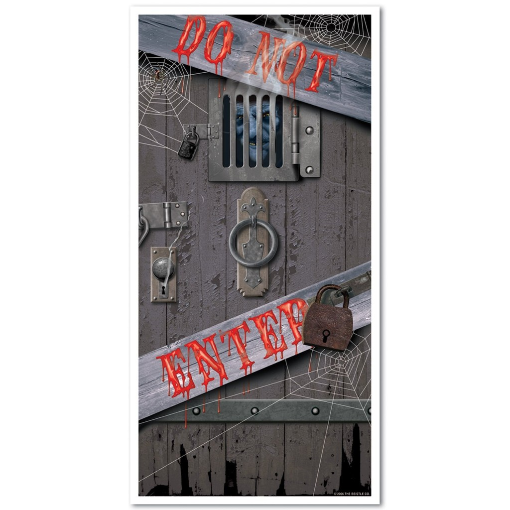 Halloween Door Covers