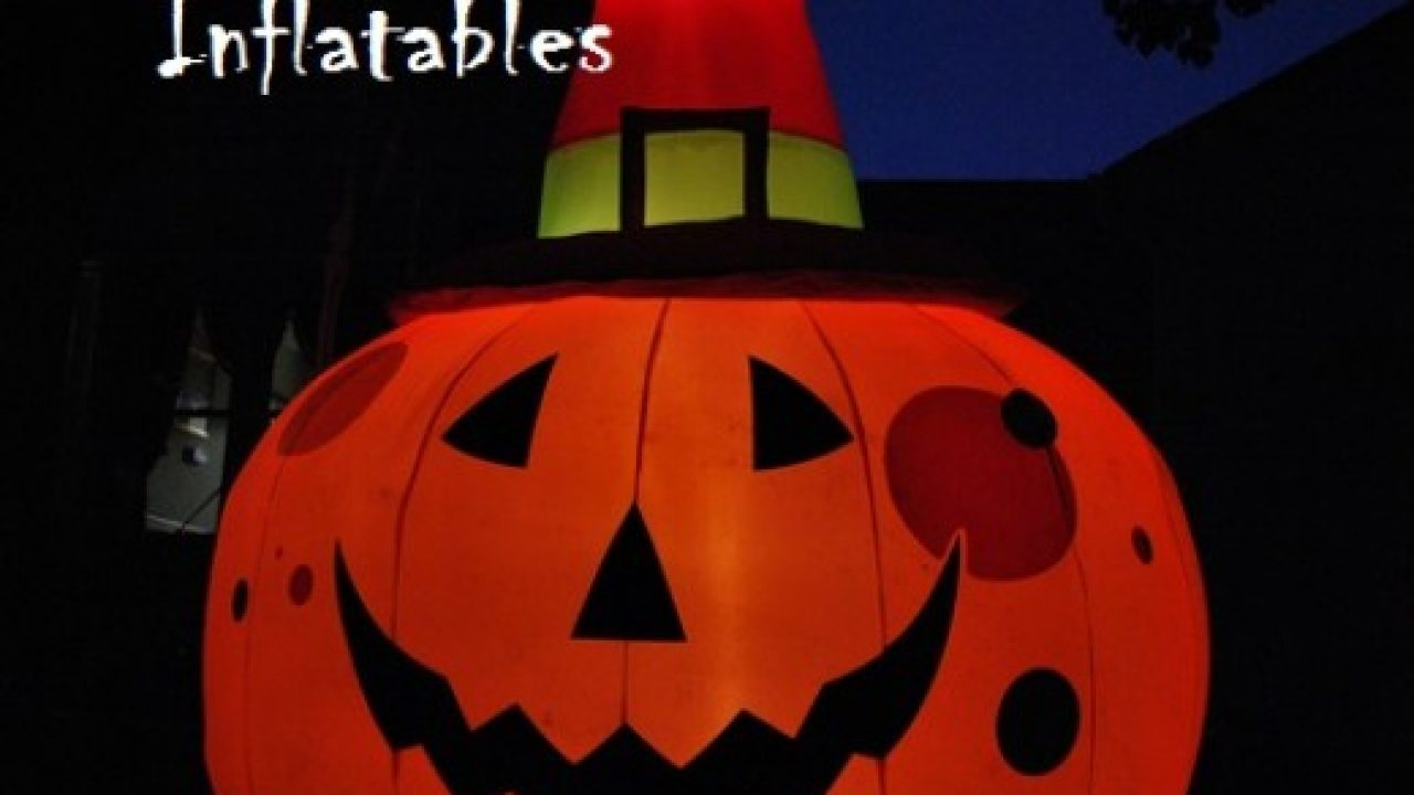 Image of: Halloween Inflatable Yard Decorations Best Halloween Store