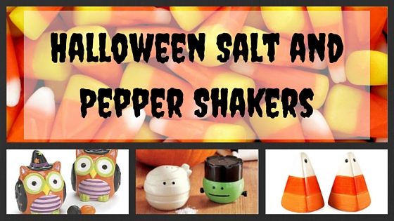 Halloween Salt and Pepper Shakers