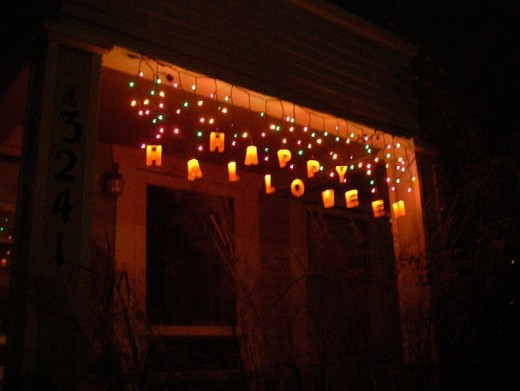happy halloween lights - The Tradition Of Halloween