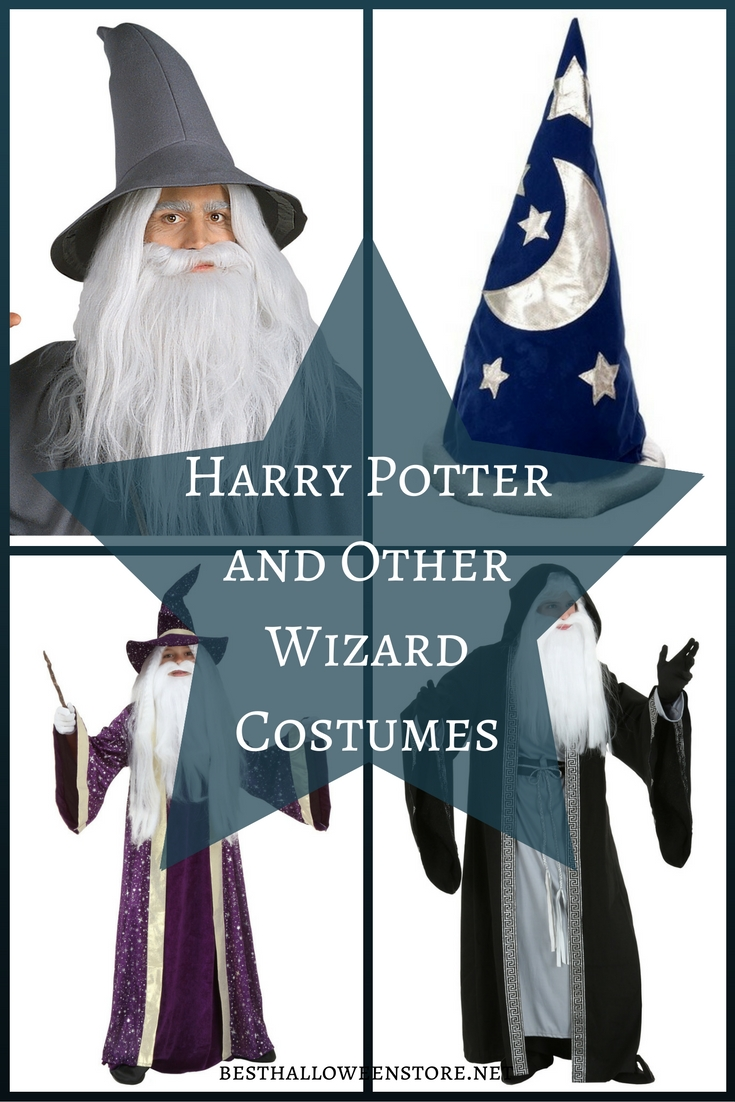 Harry Potter and Other Wizard Costumes