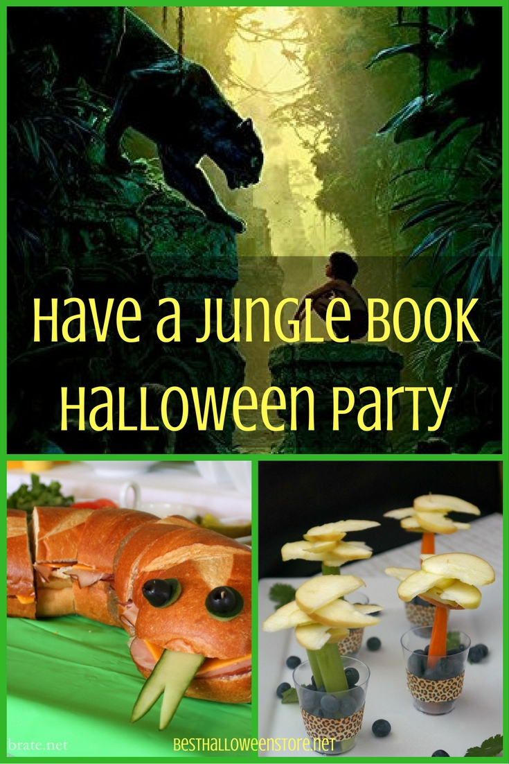 Have a Jungle Book Halloween Party.