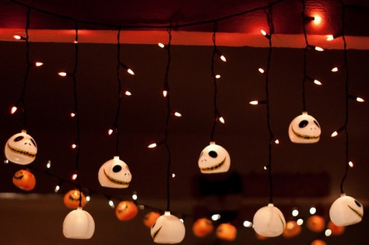 Nightmare Before Christmas Lights