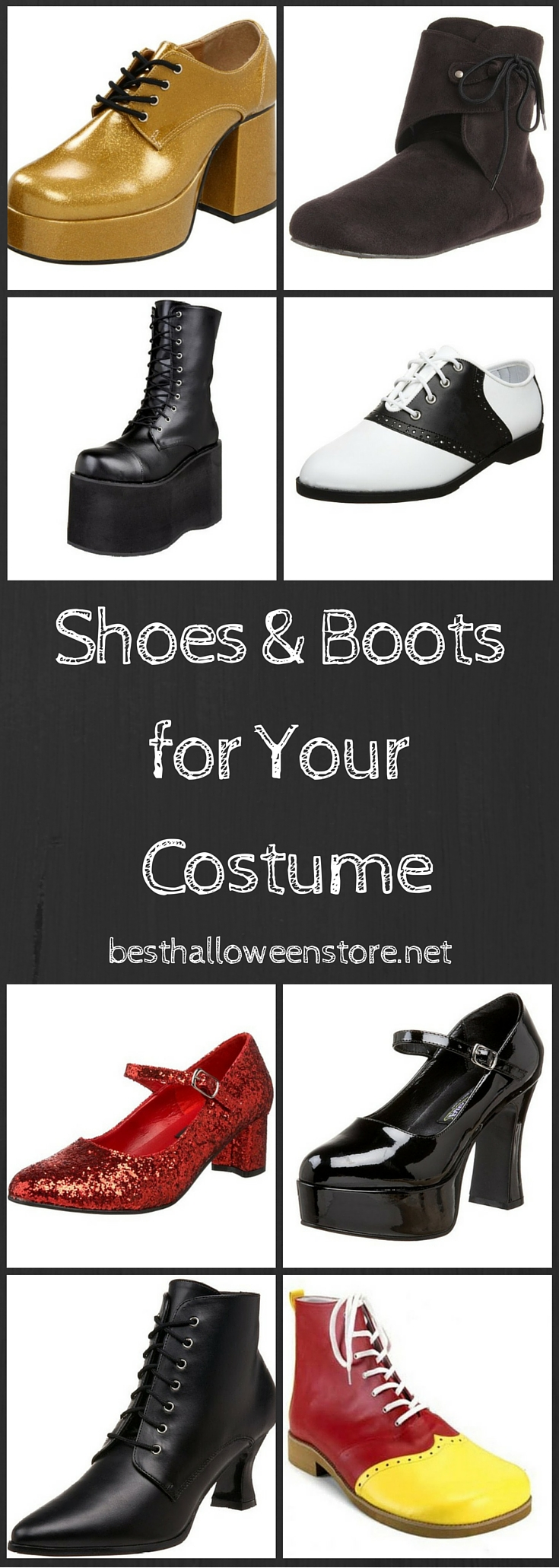 Funky Shoes & Boots for Your Retro Costume