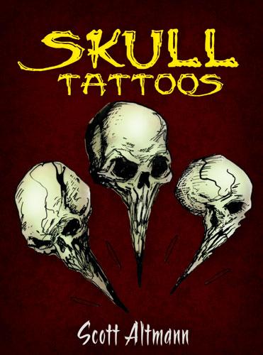 Temporary Skull Tattoos for Halloween Fun