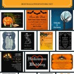 Spooky Wedding Invitations