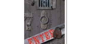 Get Scary or Whimsical with Halloween Door Covers
