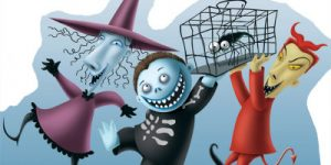 Halloween Stand Ups Enhance Halloween Parties
