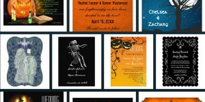 Spooky Wedding Invitations