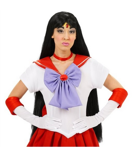 Sailor Mars Costume Wig