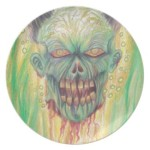 buy zombie party plate