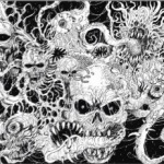 Evil Death Spawn Card
