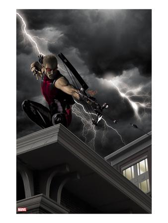 DIY Hawkeye Costume (Marvel)